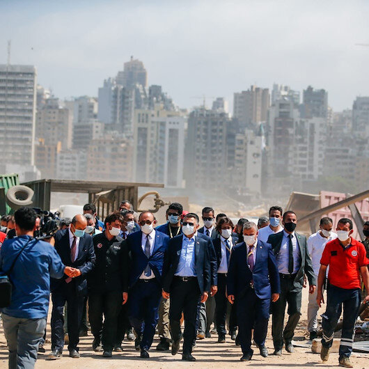 TIKA delegation visits Turkish hospital in Lebanon