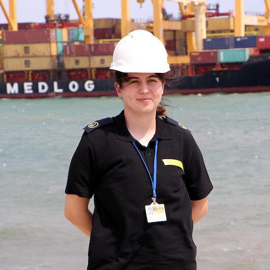Stajyer gemi kaptanı Ceyda aylarca mahsur kaldığı Beyrut Limanı'ndan patlamadan sadece 4 gün önce kurtuldu