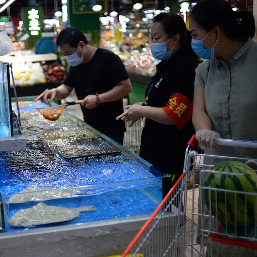 Coronavirus found on frozen seafood in China