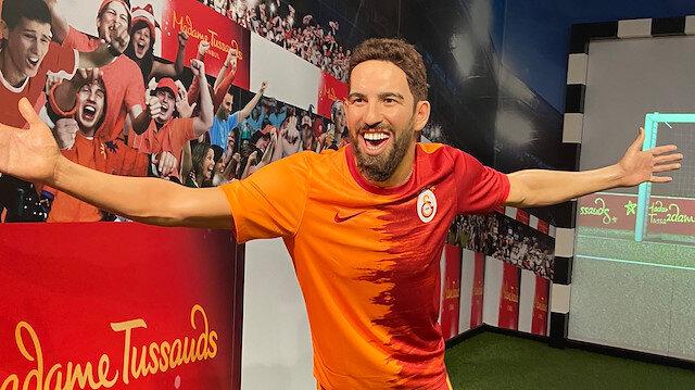 Arda Turan'ın Galatasaray formalı balmumu figürünü yaptılar