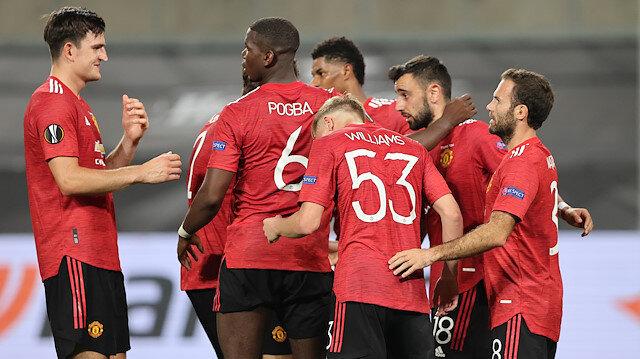 Manchester United, Kopenhag'ı uzatmalarda geçti (ÖZET)