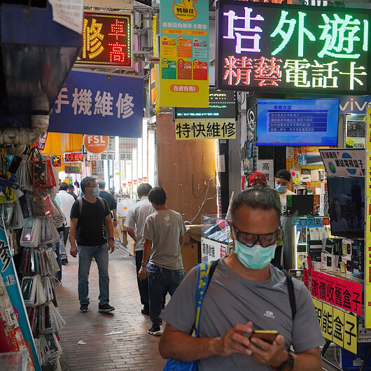 Hong Kong's dual battle: COVID-19, 'national security'