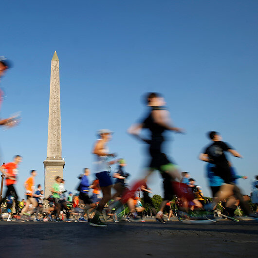 Paris marathons canceled over coronavirus