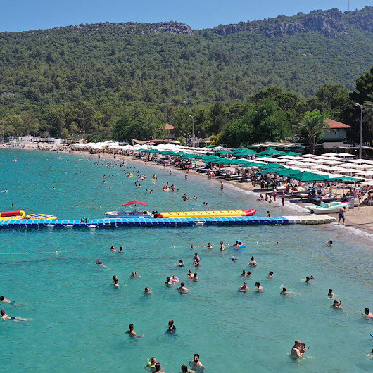Nearly 40,000 Russians flock to Turkish resort