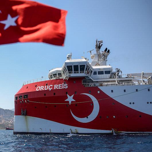 Turkey breaking blockade in Eastern Med. with Oruc Reis