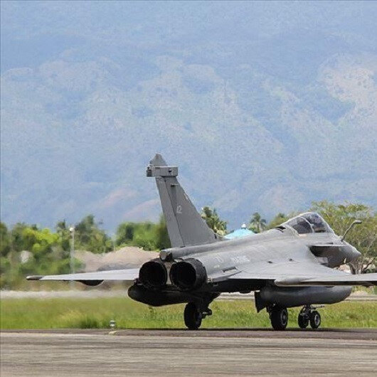 French jets land in Greek Cypriot administration
