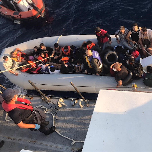 Turkey rescues 40 asylum seekers in Aegean