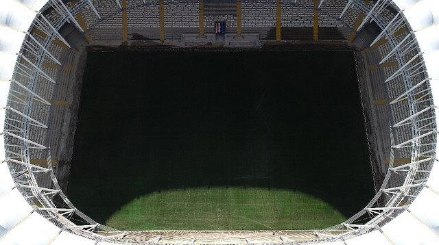 Türkiye'nin yeni stadı bitiyor
