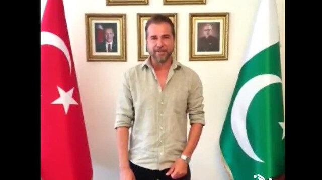 Azadi Mubarak Pakistan: Ertugrul star visits consulate, marks Independence Day in Istanbul