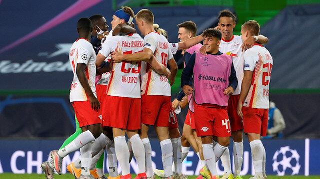 Leipzig Şampiyonlar Ligi'nde yarı finalde