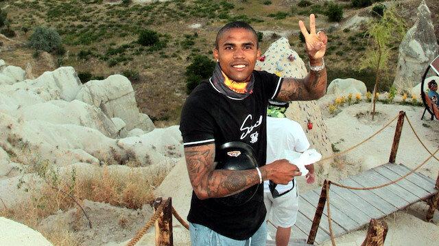 Douglas Costa<br>Kapadokya'da