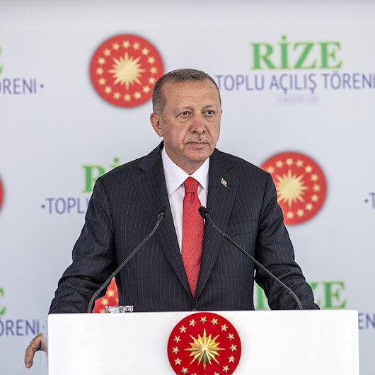 Cumhurbaşkanı Erdoğan: Doğu Akdeniz'de, Libya'da, Ege'de haklarımızı korumaya odaklandık