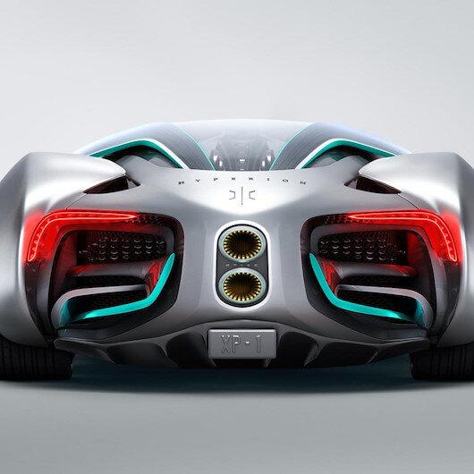 Hyperion'ın süper arabası hidrojenle çalışıyor