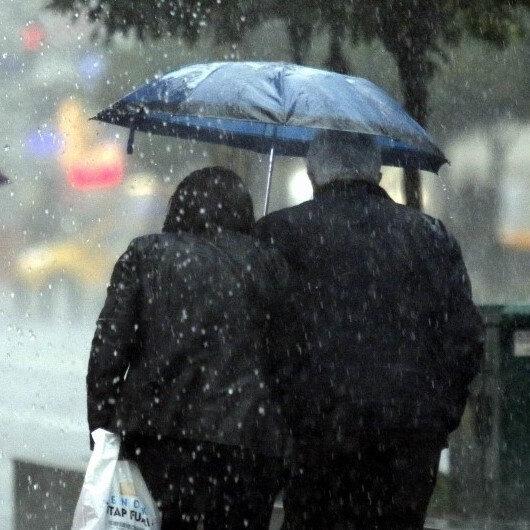 Meteoroloji son hava durumu tahminlerini açıkladı: 8 ile sağanak yağış uyarısı