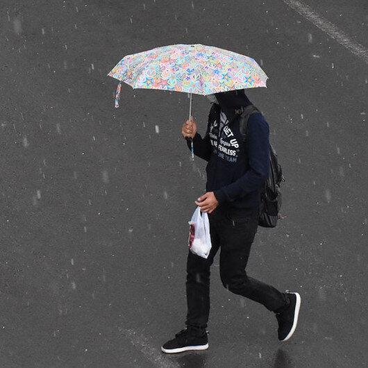 Meteorolojiden 6 il için sağanak yağış uyarısı!