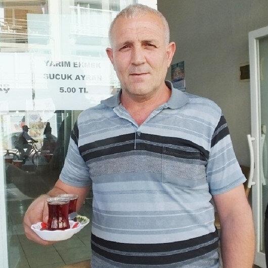 Balıkesirli kahveci çayı 50 kuruş yaptı müşterileri arttı: Böyle satmaya devam edecek