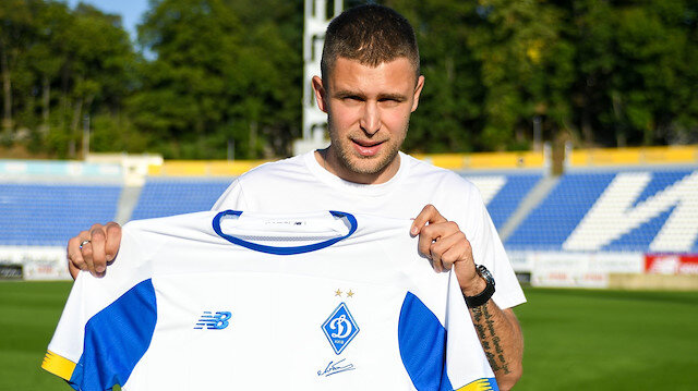 Artem Kravets Dinamo Kiev'de