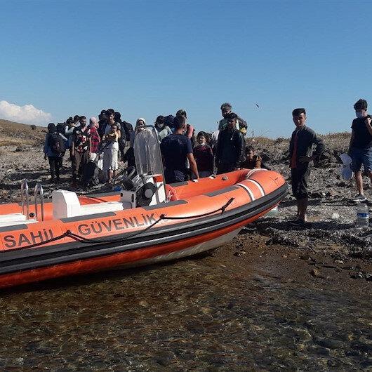 Yunanistan'ın yine ölüme terk etti: Türk sularında 25 kaçak göçmen kurtarıldı