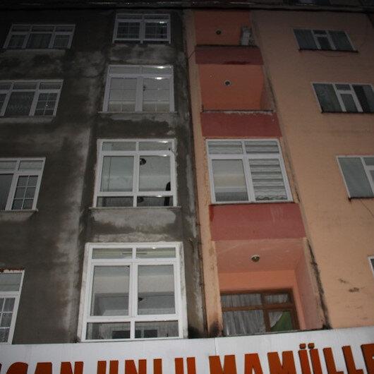 Rize'de iki apartman heyelan tehlikesi nedeniyle tahliye edildi