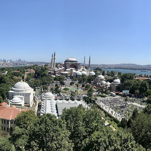 Turkey welcomes 5.4M tourists in 7 months