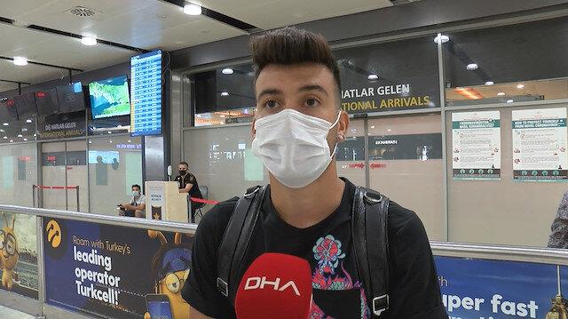 Yeni transfer <br>İstanbul'a geldi