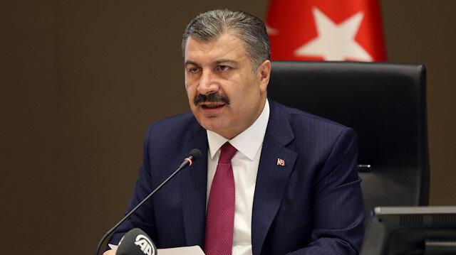 Minister of Health of Turkey Fahrettin Koca