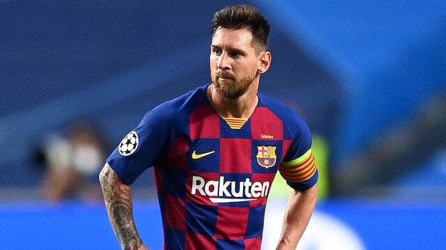 Lionel Messi Barcelona'dan ayrılıyor: Kararını yönetime bildirdi
