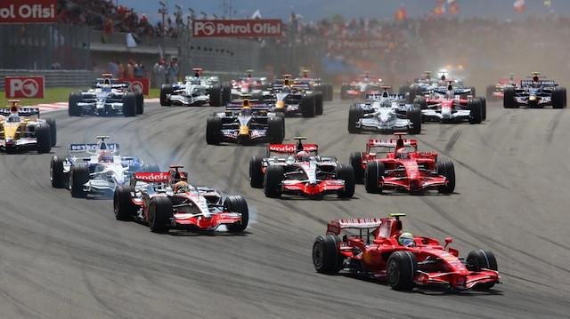 F1 yeniden <br>Türkiye'de