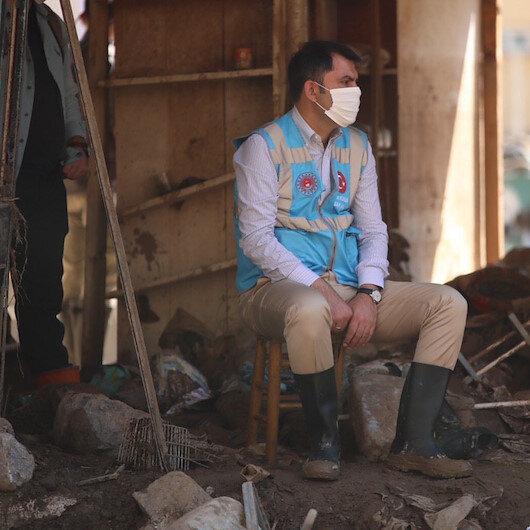 Dereli'deki yıkım ve tahliyeleri Bakan Kurum yönetiyor