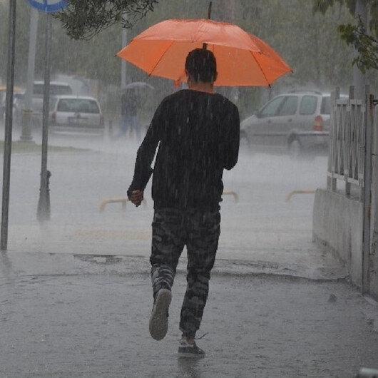 Meteorolojiden sağanak uyarısı: Bazı illerde sağanak yağış bekleniyor