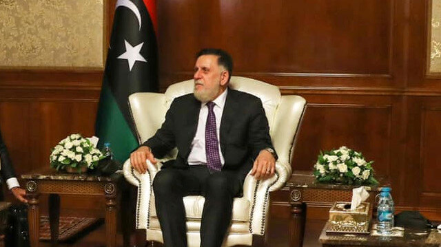 Libya's internationally recognised Prime Minister Fayez al-Sarraj