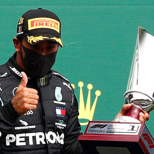 Formula 1: Lewis Hamilton wins Belgian Grand Prix