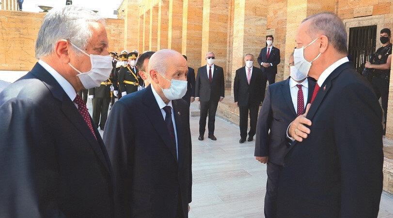 Cumhurbaşkanı Erdoğan ve Devlet Bahçeli