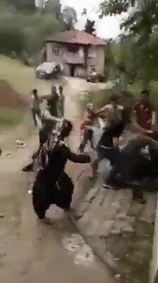 Sakarya'da mevsimlik tarım işçileri ile patronları arasında çıkan kavga.