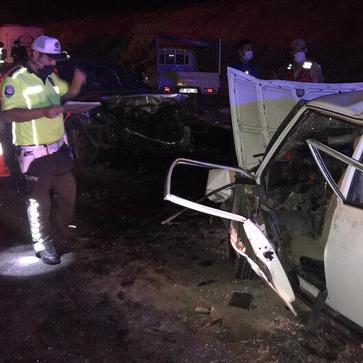 Gaziantep'te zincirleme trafik kazası: 4 ölü, 4 yaralı