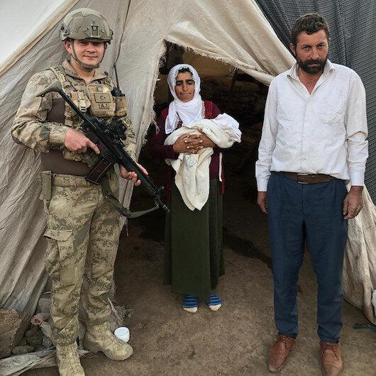 Jandarma Şırnak'ta uydu telefonu ile doktordan aldığı talimatlarla hamile kadına doğum yaptırdı