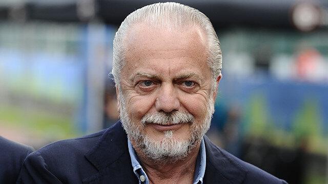 Napoli Kulübü Başkanı De Laurentiis'in koronavirüs testi pozitif çıktı