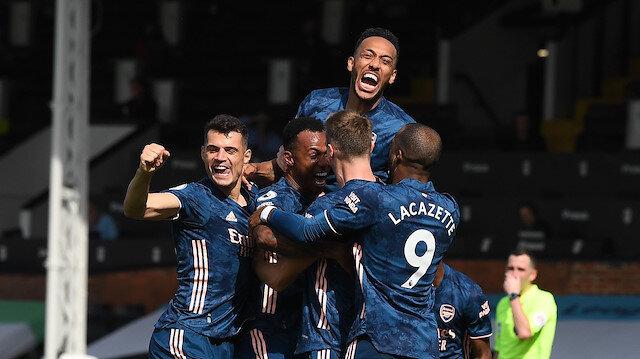 Arsenal ilk maçında Fulham'ı farklı geçti (ÖZET)