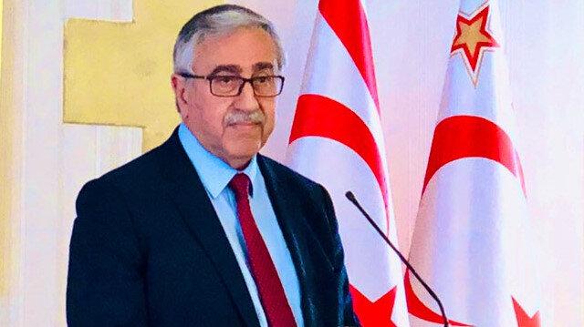 Turkish Cypriot Leader Mustafa Akinci