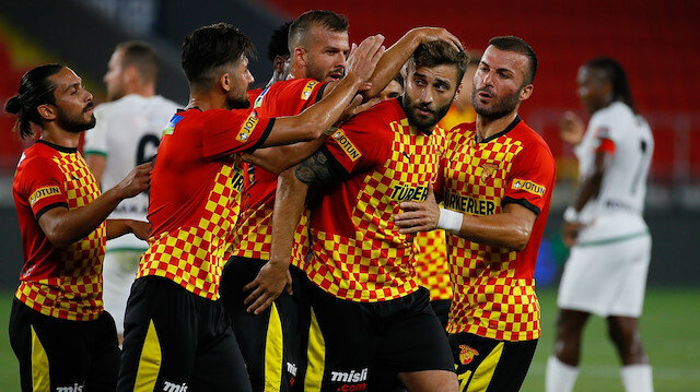 Göztepe'den Denizlispor'a gol yağmuru