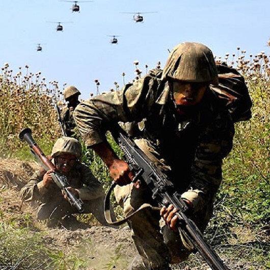"""""""Şehit Jandarma Yarbay Songül Yakut-8"""" operasyonunda bomba yapım düzenekleri ele geçirildi"""