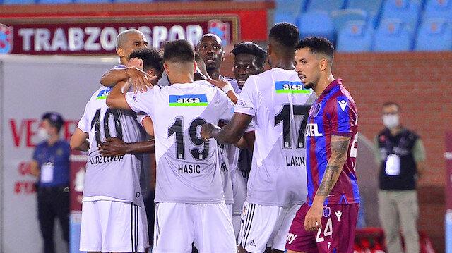 Beşiktaşlı futbolcuların gol sevinci