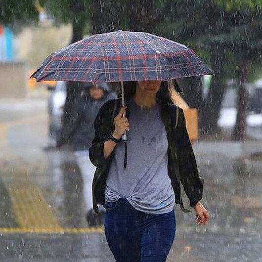Meteoroloji'den 6 il için sağanak yağış uyarısı!