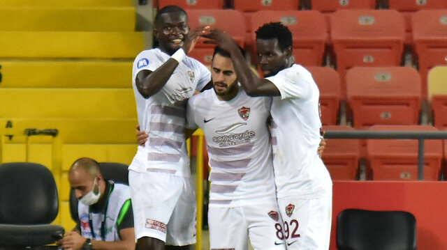 Hatayspor, Süper Lig'deki ilk maçında sahadan 2-0'lık galibiyetle ayrıldı.