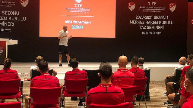 MHK'nın düzenlediği hakem seminerinde COVID tedbirlerine gerekli özenin verilmediği iddia edildi.