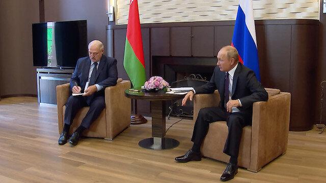 Russian President Putin meets Belarusian counterpart Lukashenko in Sochi
