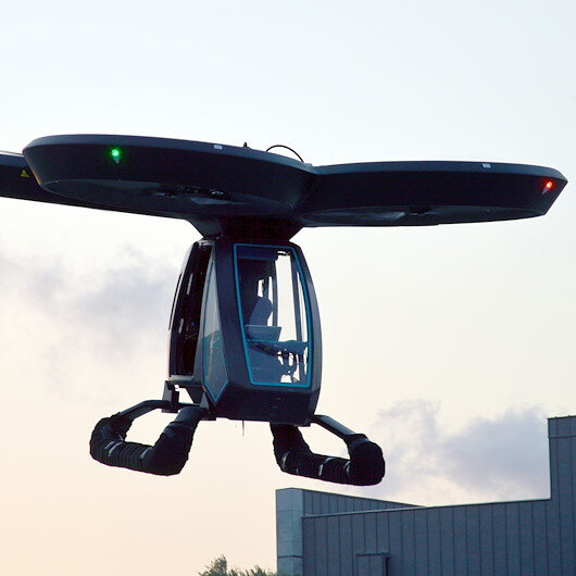Turkey successfully tests its 1st flying car