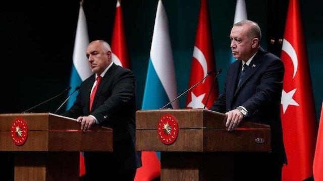 أردوغان ورئيس وزراء بلغاريا يبحثان قضايا إقليمية