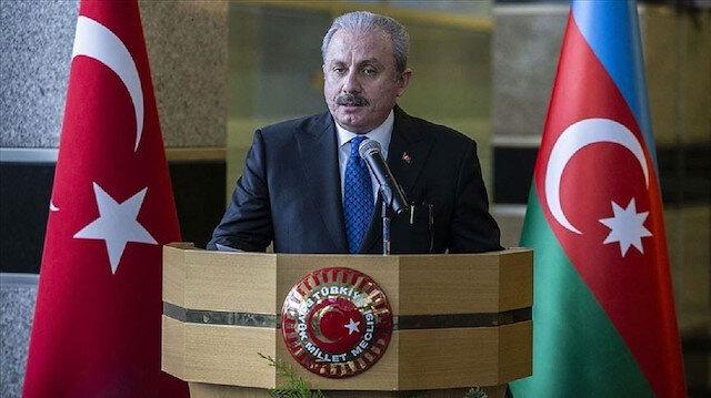 رئيس البرلمان التركي يهنئ أذربيجان بالذكرى 102 لتحرير باكو