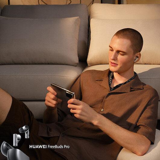 Huawei'den, akıllı dinamik gürültü engelleme teknolojisine sahip FreeBuds Pro kulaklık